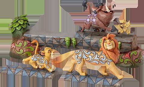 Enesco, LLC Simba, Timon & Pumbaa Figurine
