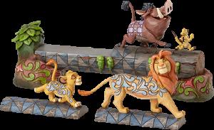 Simba, Timon & Pumbaa Figurine