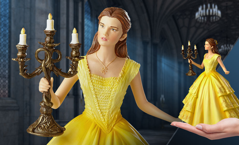 Gallery Feature Image of Cinematic Moment Belle Figurine - Click to open image gallery