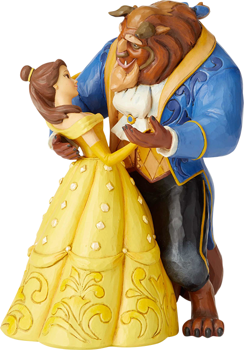 Enesco, LLC Belle & Beast Dancing Figurine