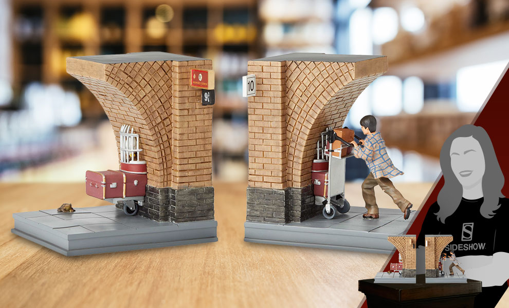 Gallery Feature Image of Harry Potter Bookends Office Supplies - Click to open image gallery