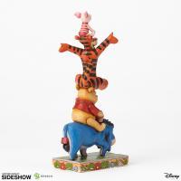 Gallery Image of Eeyore Pooh Tigger Piglet Figurine