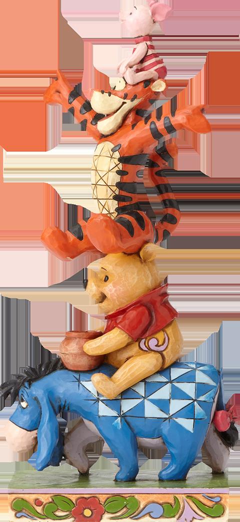 Enesco, LLC Eeyore Pooh Tigger Piglet Figurine