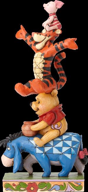 Eeyore Pooh Tigger Piglet Figurine