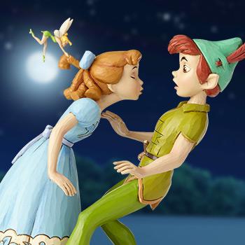 Peter Pan, Wendy & Tinker Bell Figurine