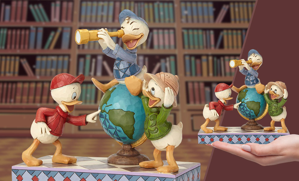 Gallery Feature Image of Huey Dewey & Louie Duck Tales Figurine - Click to open image gallery