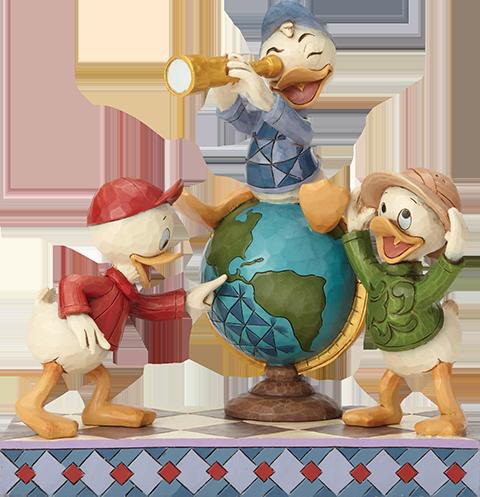 Enesco, LLC Huey Dewey & Louie Duck Tales Figurine