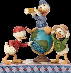 Huey Dewey & Louie Duck Tales Figurine