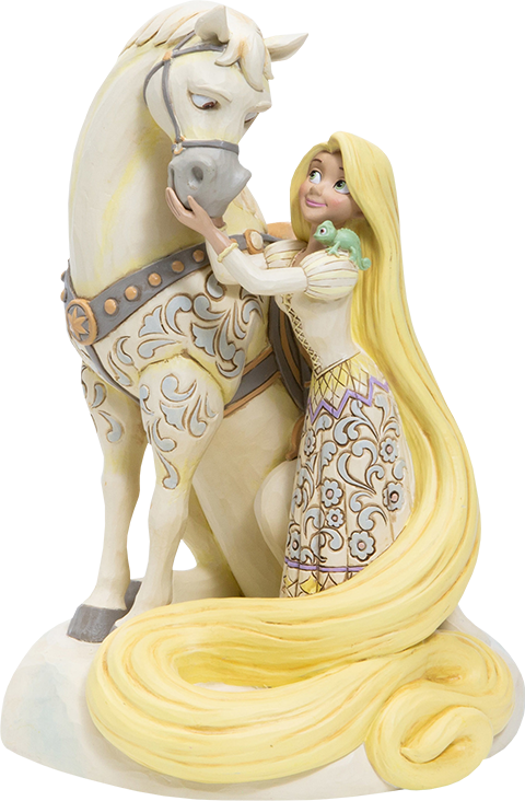 Enesco, LLC White Woodland Rapunzel Figurine