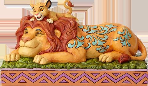 Enesco, LLC Simba & Mufasa Figurine