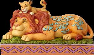 Simba & Mufasa Figurine
