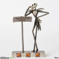 Gallery Image of Jack by Halloween Town Sign Figurine