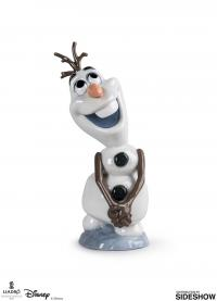 Gallery Image of Olaf Porcelain Statue