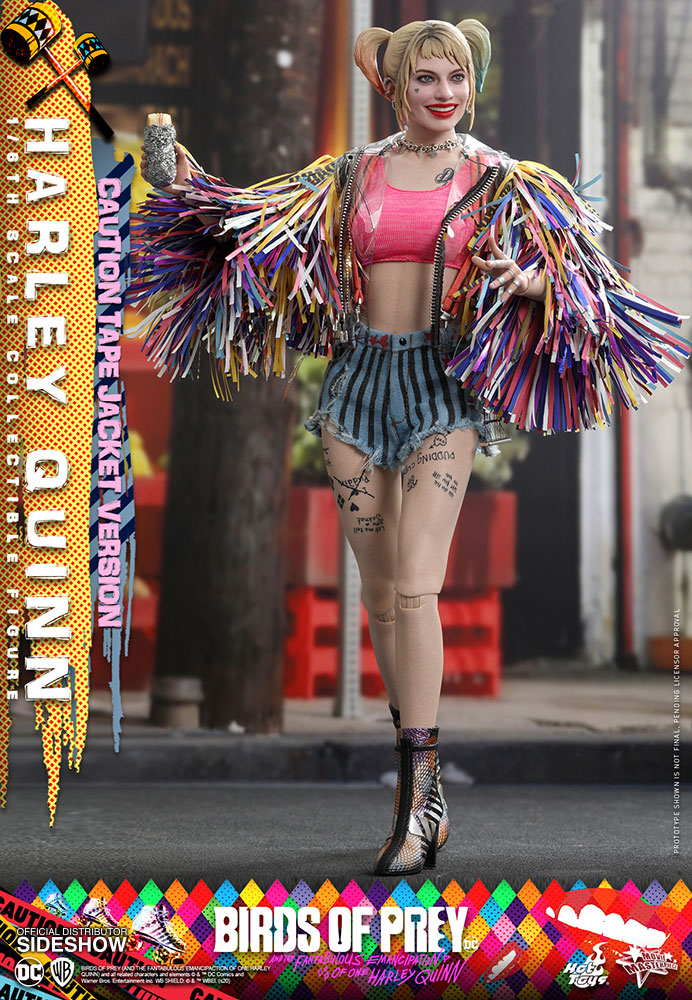 Hot Toys Harley Quinn Caution Tape Jacket Version Statue Forum