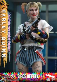 Gallery Image of Harley Quinn (Caution Tape Jacket Version) Sixth Scale Figure