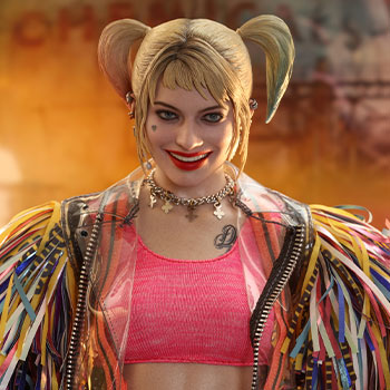 Harley Quinn (Caution Tape Jacket Version) Sixth Scale Figure