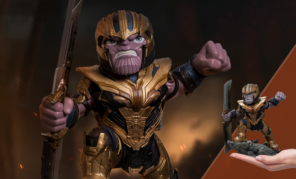 Gallery Feature Image of Thanos: Avengers Endgame Mini Co. Collectible Figure - Click to open image gallery