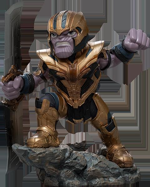 Iron Studios Thanos: Avengers Endgame Mini Co. Collectible Figure