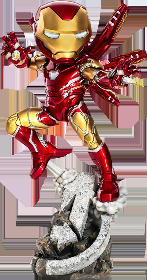 Iron Studios Iron Man: Avengers Endgame Mini Co. Collectible Figure