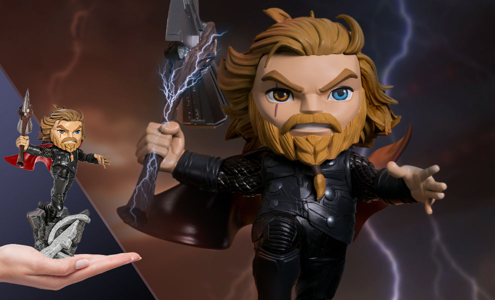 Gallery Feature Image of Thor: Avengers Endgame Mini Co. Collectible Figure - Click to open image gallery