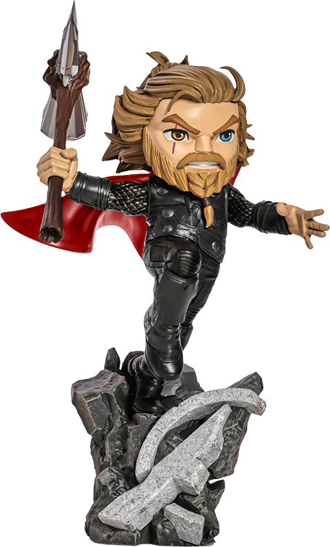 Iron Studios Thor: Avengers Endgame Mini Co. Collectible Figure