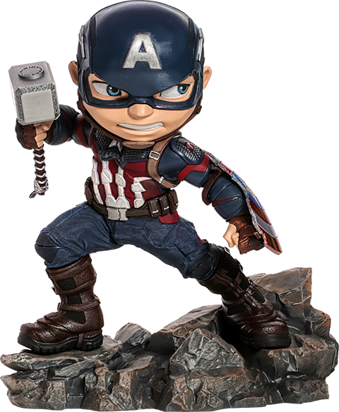 Iron Studios Captain America: Avengers Endgame Mini Co. Collectible Figure