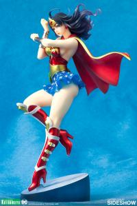 Gallery Image of Armored Wonder Woman Statue