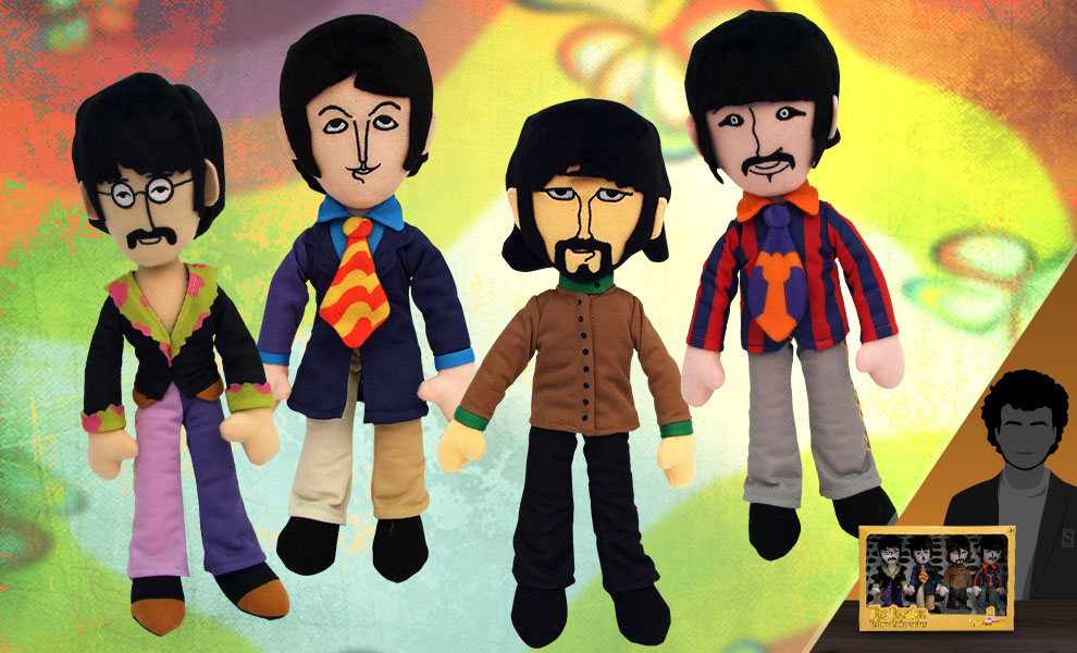 Gallery Feature Image of The Beatles - Yellow Submarine Plush Box Set - Click to open image gallery