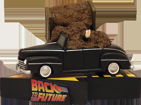 Factory Entertainment Manure Truck Accident (Premium Motion) Statue