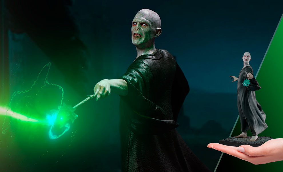 Gallery Feature Image of Voldemort 1:10 Scale Statue - Click to open image gallery