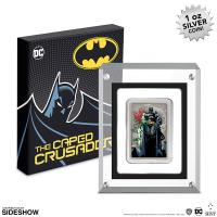 Gallery Image of The Caped Crusader - Vixens 1oz Silver Coin Silver Collectible