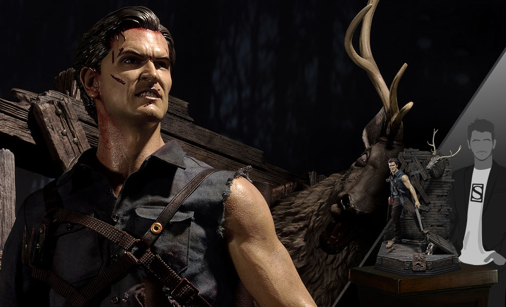 Gallery Feature Image of Ash Williams 1:3 Scale Statue - Click to open image gallery