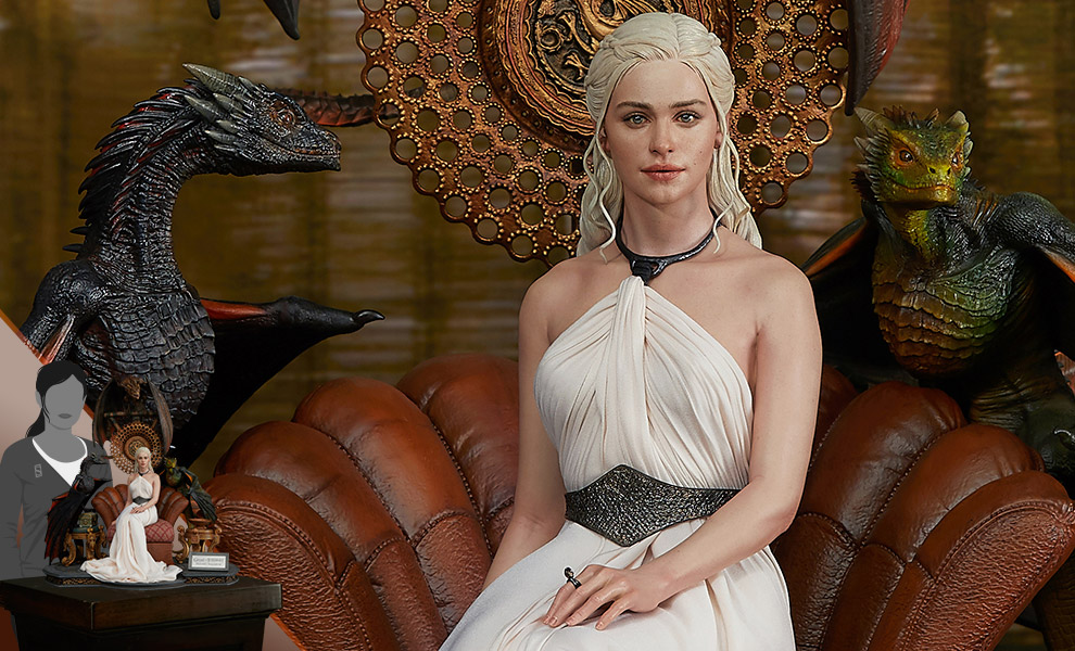 Gallery Feature Image of Daenerys Targaryen, Mother of Dragons Statue - Click to open image gallery