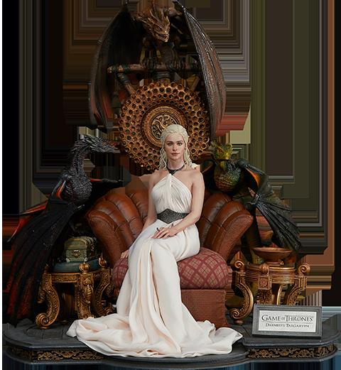 Blitzway Daenerys Targaryen, Mother of Dragons Statue