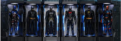 Hot Toys Batman: Arkham Knight Armory Miniature Collectible Set