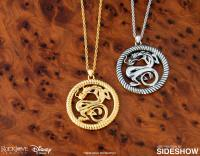 Gallery Image of Mushu Medallion (Silver) Necklace Jewelry