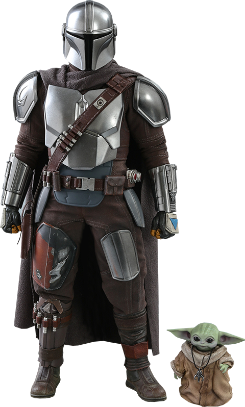 Hot Toys The Mandalorian and The Child Collectible Set