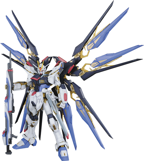 Bandai Strike Freedom Gundam Collectible Figure