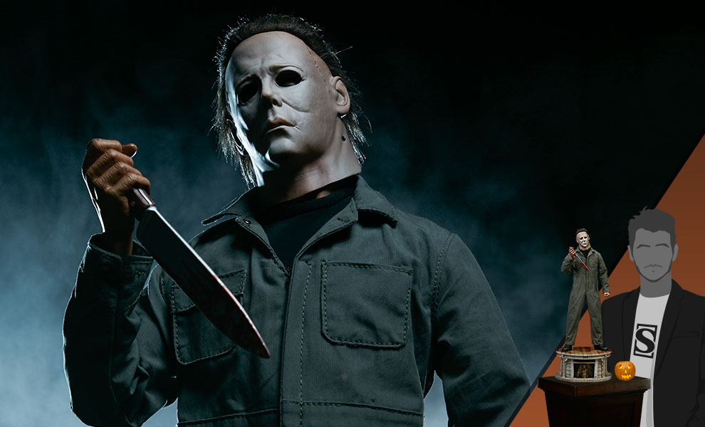 Gallery Feature Image of Michael Myers (Slasher Edition) Statue - Click to open image gallery