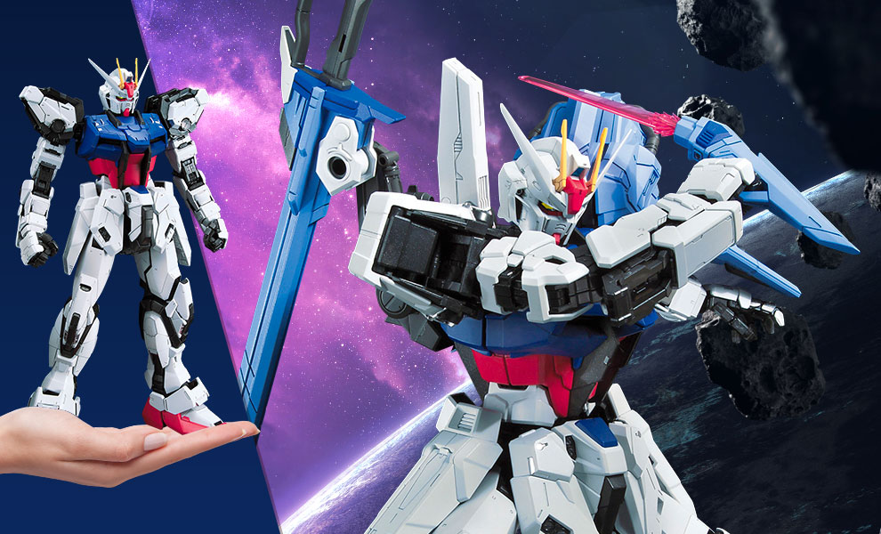 Gallery Feature Image of Perfect Strike Gundam Collectible Figure - Click to open image gallery