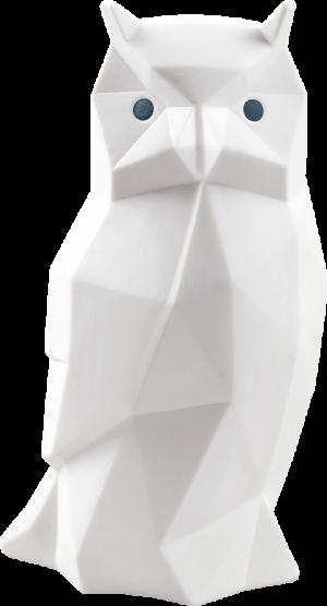 Owl (Matte White) Porcelain Statue