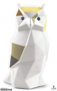 Gallery Image of Owl Porcelain Statue