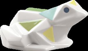 Frog Porcelain Statue