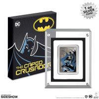 Gallery Image of The Caped Crusader - Gotham City Silver Coin Silver Collectible