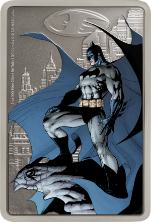 The Caped Crusader - Gotham City Silver Coin Silver Collectible
