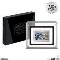 Gallery Image of Clone Trooper Silver Coin Silver Collectible