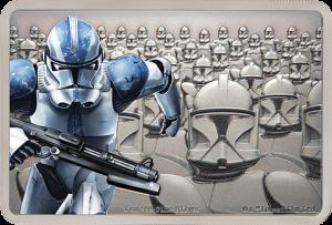 Clone Trooper Silver Coin Silver Collectible