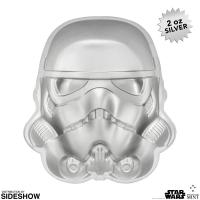 Gallery Image of Stormtrooper Helmet Silver Coin Silver Collectible