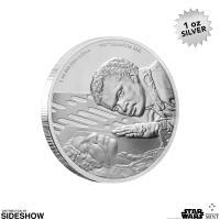 Gallery Image of Lando Calrissian Silver Coin Silver Collectible