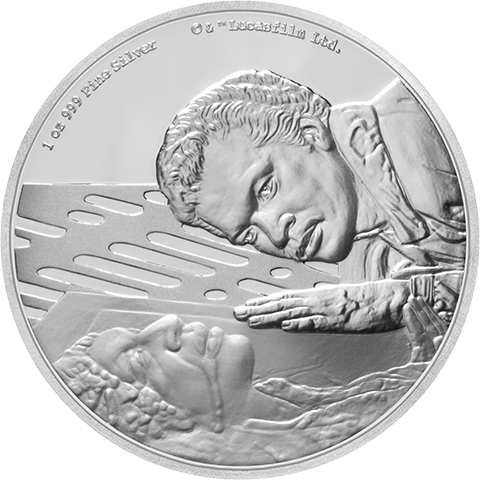New Zealand Mint Lando Calrissian Silver Coin Silver Collectible